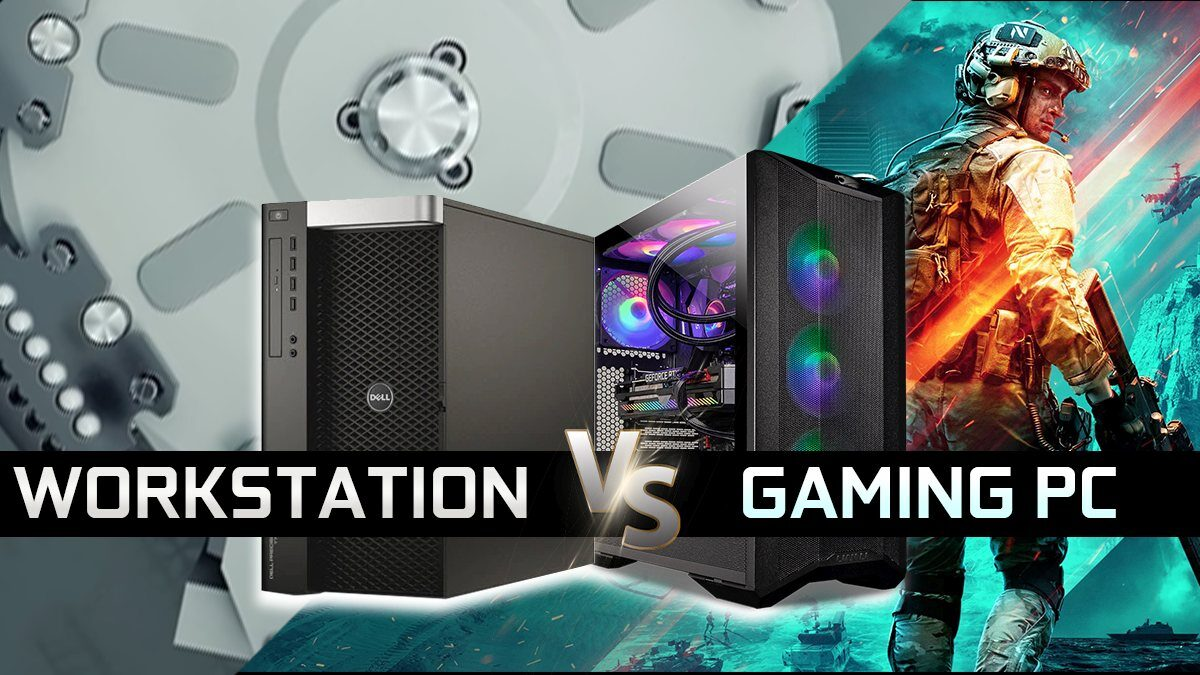 Workstation vs Gaming PC – What's the Difference and Which One Do You Need?
