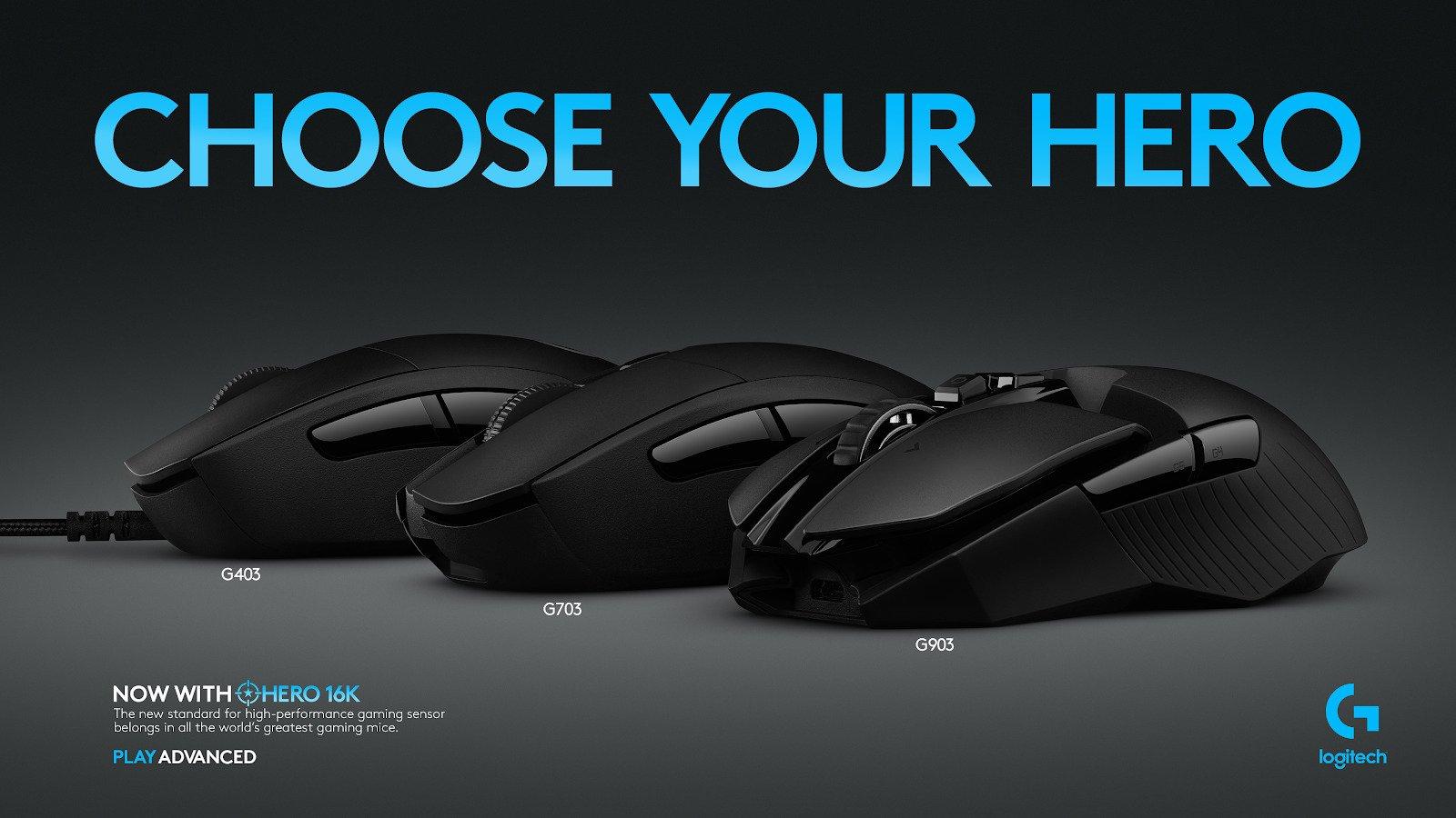 Logitech makes good Mice for Blender - an overview