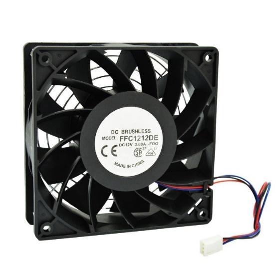 HIGHFINE 12cm, 120mm, 200CFM, 4000RPM, CPU Cooling Fan