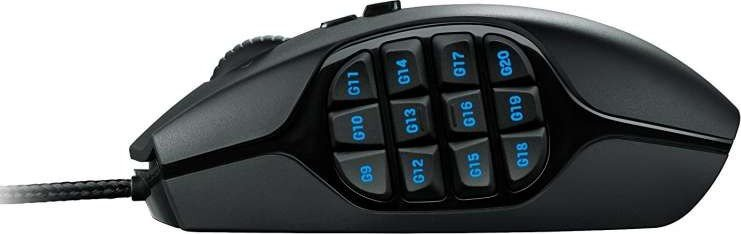 Logitech G600 Mouse - Side Buttons