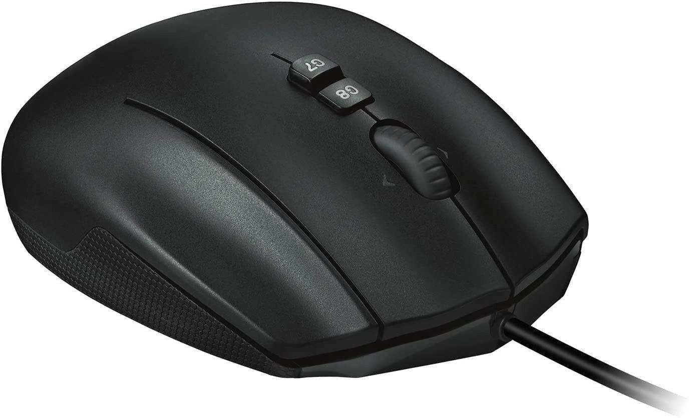 Logitech G600 Mouse - Top buttons