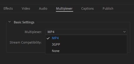 MP4 Multiplexer