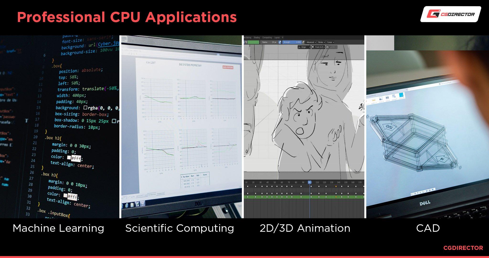 Professional CPU Applications