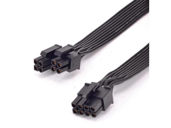 CPU 8pin to 4+4pin Power supply Cable ATX 12V P4 to P8 for Seasonic FOCUS PLUS Gold Platinum M12II EVO Snow Silent X Series PSU - Newegg.com