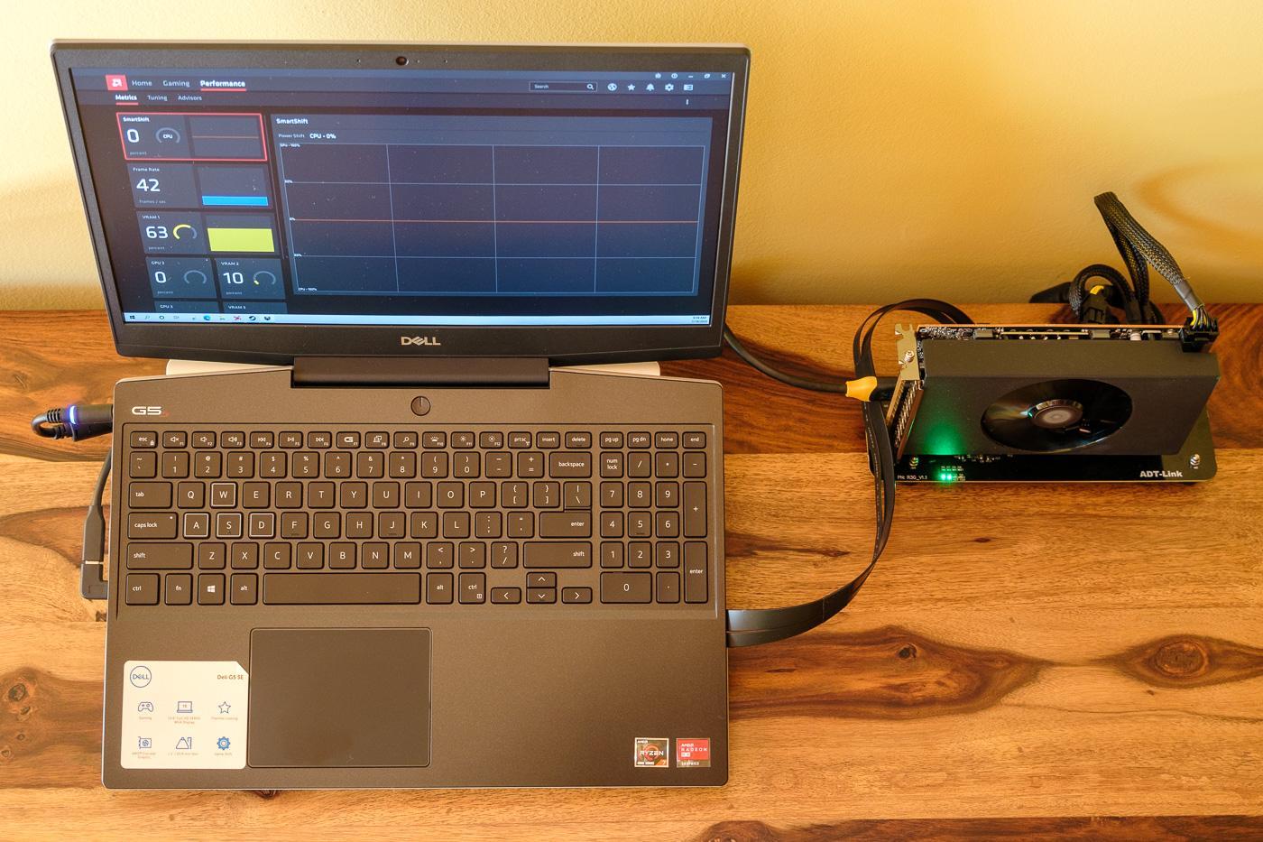 eGPU for laptop