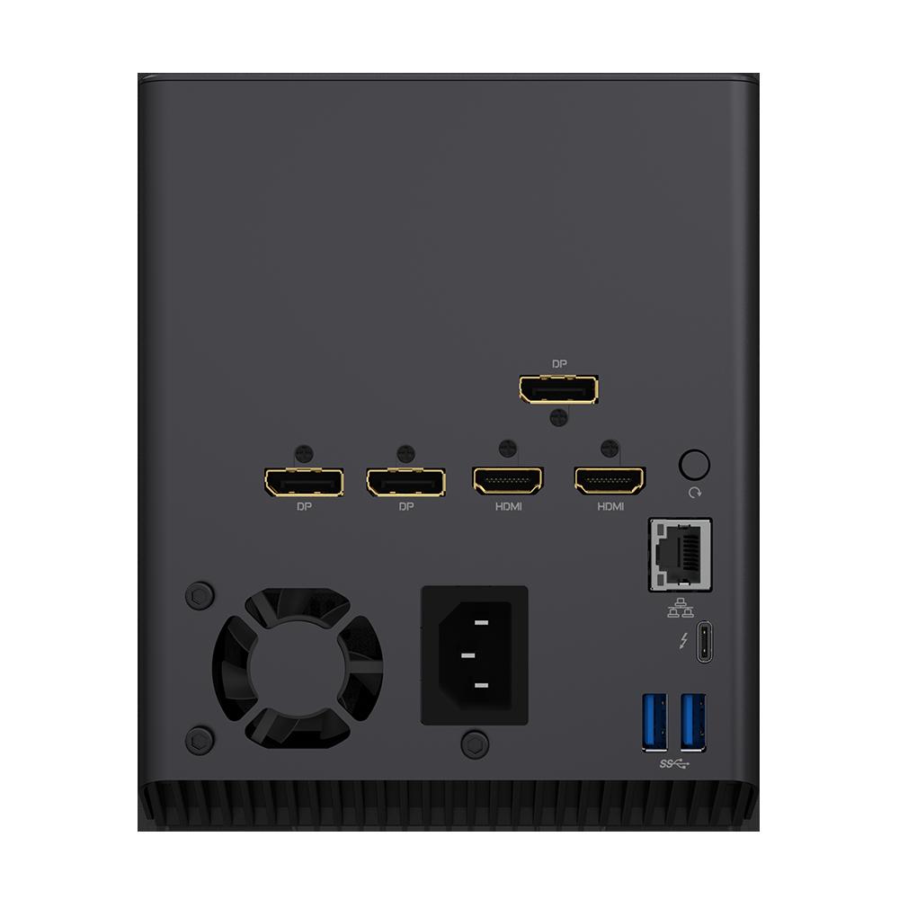 GIGABYTE Aorus RTX 3080 Gaming Box ports
