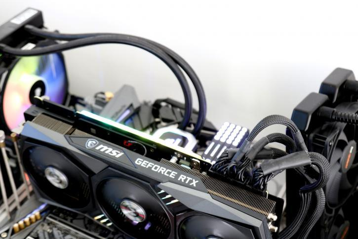 MSI GeForce RTX 3090 Gaming X TRIO review - Hardware setup | Power consumption