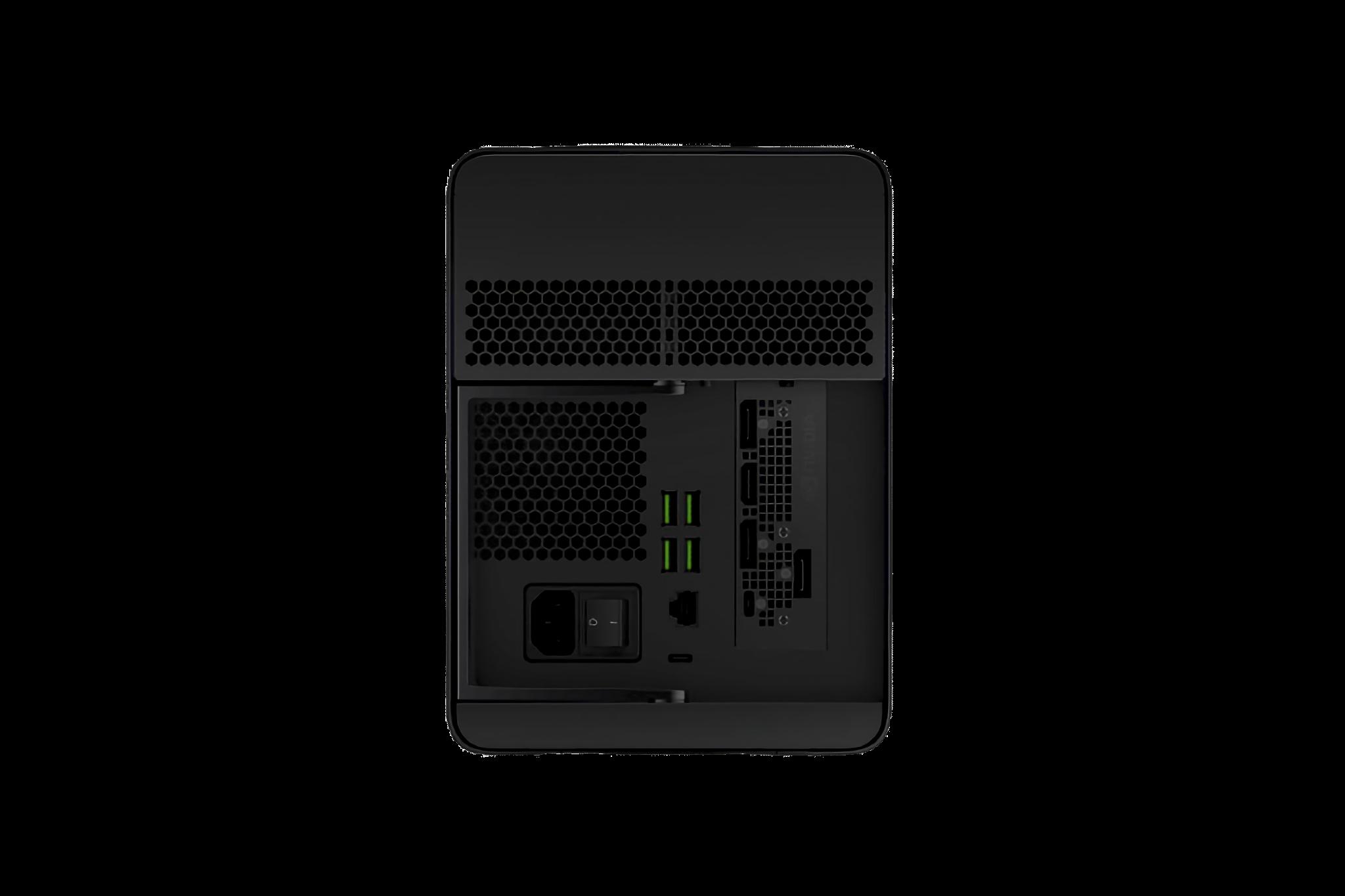 Razer Core X Chroma ports
