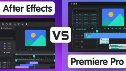 After Effects vs. Premiere Pro – Which is the better Tool for your Purpose?