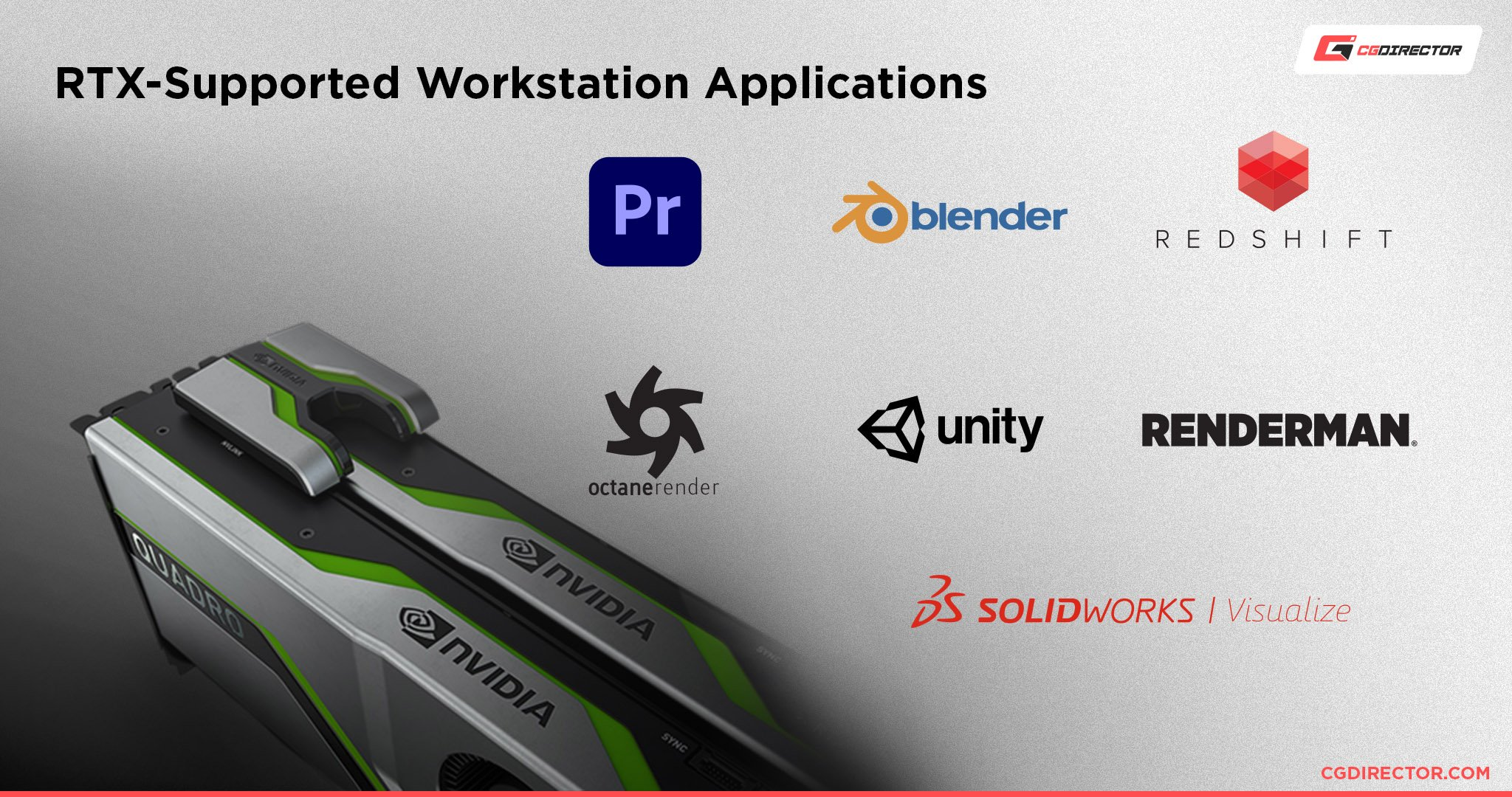 RTX-Technology Enabled Workstation Applications